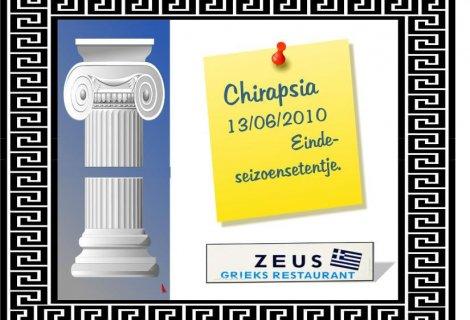 Chirapsia – etentje augustus 2010